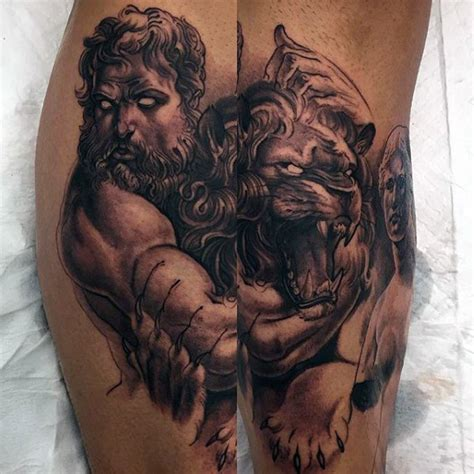 Greek Mythology Tattoos Design For Men Tattoosera