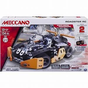 Boys Meccano Erector Sports Roadster Radio Remote Control