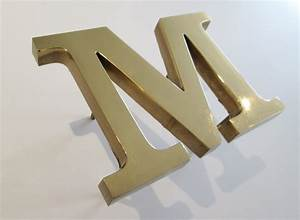 cast bronze letters with a polished face metal letters With bronze metal letters