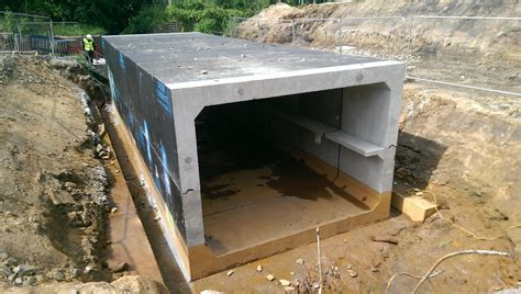 balfour beatty takes delivery   shaped culverts