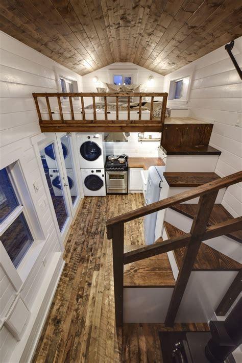 rustic loft tiny house swoon