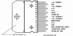 Tda7294 Datasheet - Basic Circuit