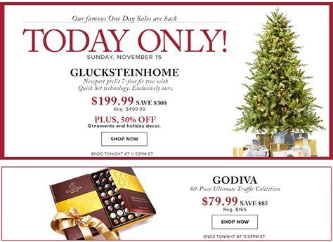 hudson bay christmas tree ads hudson s bay canada pre black friday one day sale save 60 glucksteinhome prelit tree 50