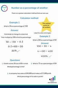 Percentages Revision Guide