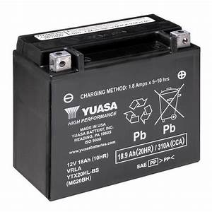 Lithium Battery Replacement Chart Yuasa Ytx20hl Bs Motorcycle Battery