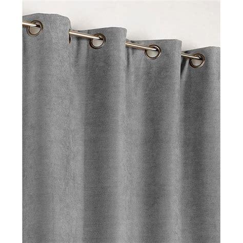 rideau occultant thermique alaska gris clair l 140 x h
