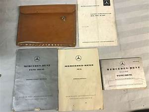 Ebay  Sponsored Mercedes Benz 1959 190 Sl Owner U0026 39 S Manual
