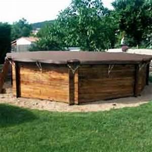 piscines bois hors sol ou a enterrer rectangulaires With terrasse en bois pour piscine hors sol 5 piscine 100 bois decouvrez cette nouvelle piscine bois