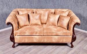 Chesterfield Sofa 4 Sitzer : chesterfield sofa 3 sitzer kolonial braun sofas sofas sessel chaiselongue shop repro ~ Bigdaddyawards.com Haus und Dekorationen