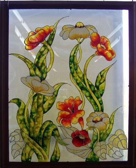 les patons de faux vitrail sur toile ou sur vitre et bloc de verre et aussi sur bois роспись