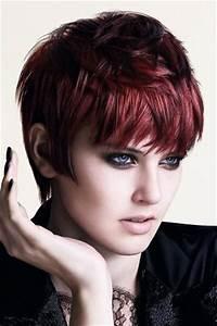 Short Dark Red Hair Color Ideas Notonlybeauty