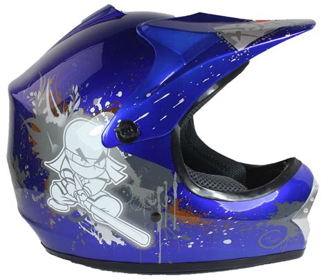 motocross crash helmets childrens kids motocross crash helmet ninja off road dirt