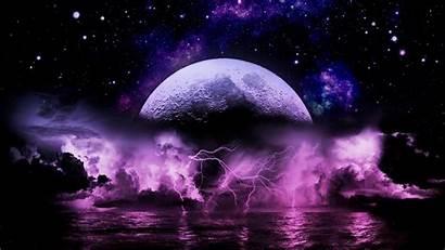 Lightning Wallpapers Purple Storm Windows Popular