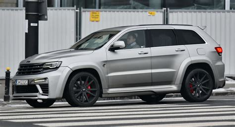 jeep grand cherokee 2017 srt8 jeep grand cherokee srt8 quot tyrannos quot makes for rare sighting