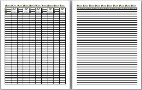 free printable log sheets stash notes and more ground zero