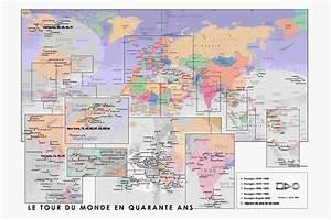 Carte Du Monde Metallique : info carte du monde pays pdf voyages cartes ~ Teatrodelosmanantiales.com Idées de Décoration