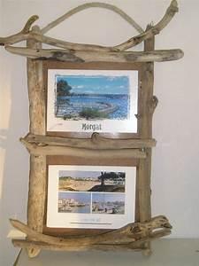 Cadre En Bois Flotté : cadre photo bois flotte driftwood bois flott pinterest photos ~ Teatrodelosmanantiales.com Idées de Décoration