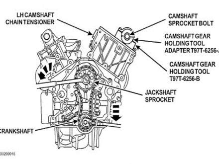 Ford Explorer 4 0 Engine Diagram by 51 1997 Ford Explorer Timing Chain Sealed Power Ford