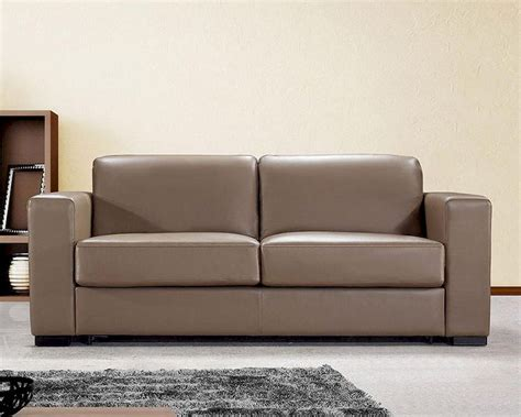 modern brown leather sofa dual modern brown leather sofa bed 44l6036