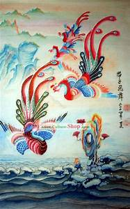 Chinese Traditional Painting with Meticulous Detail-Rising ...
