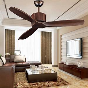 European classical with no lights fan ceiling light