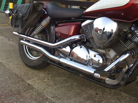Yamaha Xvs-125 Dragstar Fat Pipes Highway Hawk