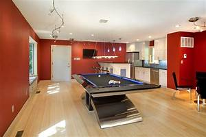 Splendid modern pool tables with ceiling lighting table bold