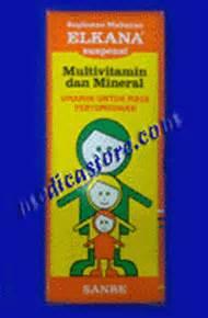 Mencegah Hamil Bo Vitamin Dan Suplemen Elkana Syrup Sanbe Farma