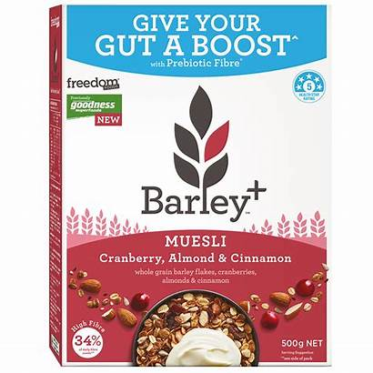 Barley Cranberry Muesli Almond Cereals Cinnamon Freedom