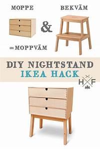 Ikea Bekväm Hack : ikea hack eine mini kommode aus moppe bekv m handgemacht fussgegangen ~ Eleganceandgraceweddings.com Haus und Dekorationen