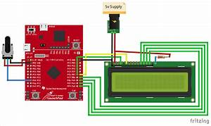 How To Interface A Lcd Display With Tiva C Series Tm4c123g