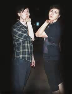 Dan and Phil Kissing