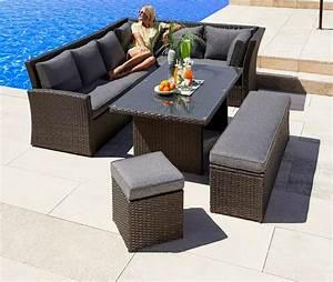 gartenmobelset mallorca 17 tlg 2x 3er sofa bank With französischer balkon mit garten esstisch set