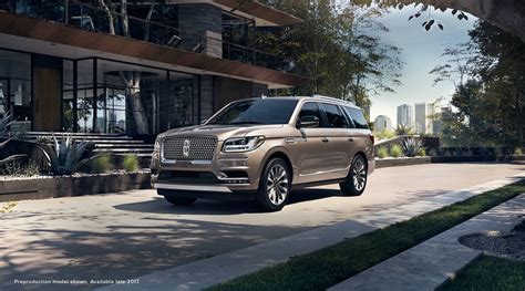 Lincoln's 2018 Navigator Lighter, Faster And More Spacious