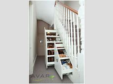 Imposing Small Space Basement With Shoes Racks Organizer