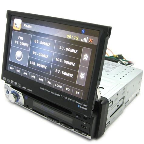 auto cd player in dash 1 din car cd mp3 dvd player support auto rear viewing gps tv anti shockproof in