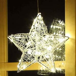 Stern Beleuchtet Weihnachten : fensterstern 20 cm beleuchtet weihnachtsstern mit 40 led drahtstern weihnachten ebay ~ Markanthonyermac.com Haus und Dekorationen