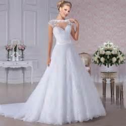 vestido de novia wedding dress aliexpress buy see through back vestido de novia lace wedding dress 2015
