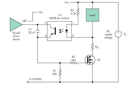 High Side Load Driver Enhances Short Circuit Protection