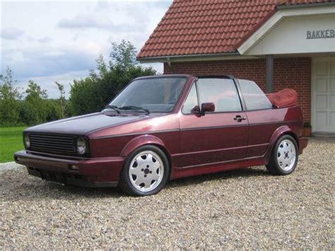 vw golf 1 cabriolet 1991 bilen er importeret fra tyskl