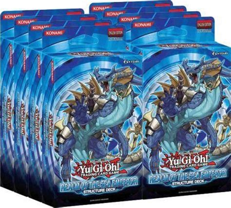 The Emperor Structure Deck Opening by Structure Deck Realm Of The Sea Emperor Box Of 8 Decks