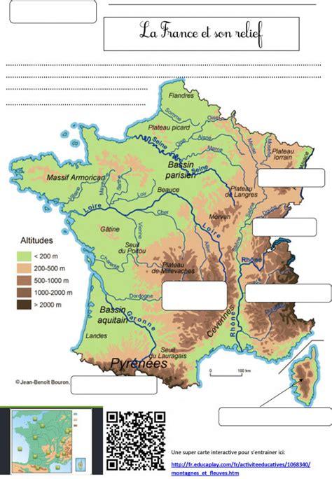 Carte De Montagne Ce1 carte de les montagnes luxury montagnes de