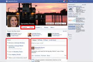 Facebook Profile Page Example