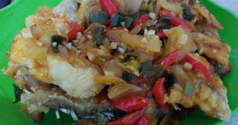 Resep udang goreng & saus padang yang lezat, cara membuatnya mudah, bumbu dan bahannya tersedia di sekitar, coba yuk di rumah sendiri! Gurame Goreng Saus Padang : Resep Gurame Saus Padang Oleh ...