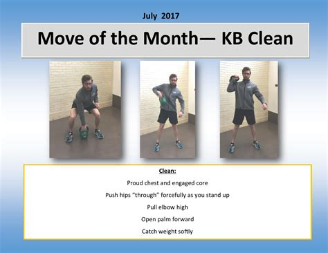 kettlebell clean move month sas tags