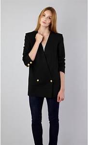 Blazer Femme Noir : veste blazer femme ~ Preciouscoupons.com Idées de Décoration