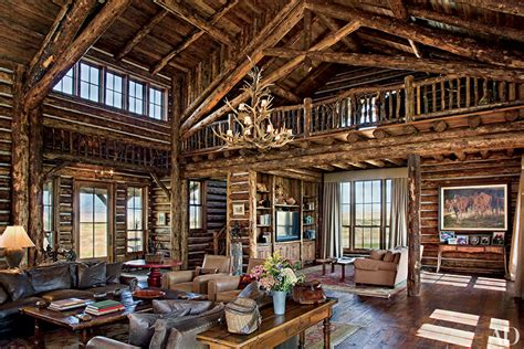 cottage style family rooms go inside 7 spectacular mountain homes huffpost