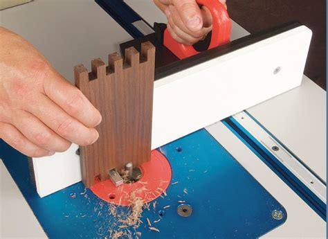 equipped shop router table box joints popular