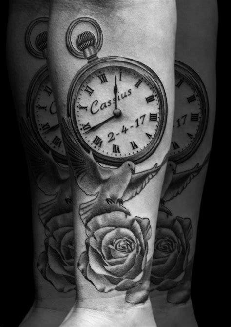 Scott White   Scott's Work   Tattoos, Pocket watch tattoos, Watch tattoos