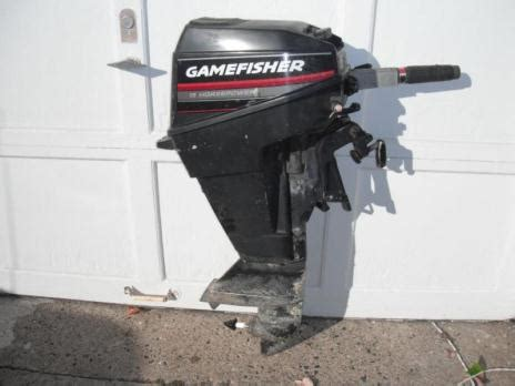 Boat Motors At Sears by Hp Gamefisher Outboard Boats For Sale